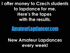 Czech cougar lapdances and...